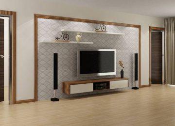 Những mẫu kệ tivi treo tường giá rẻ, thiết kế mới lạ